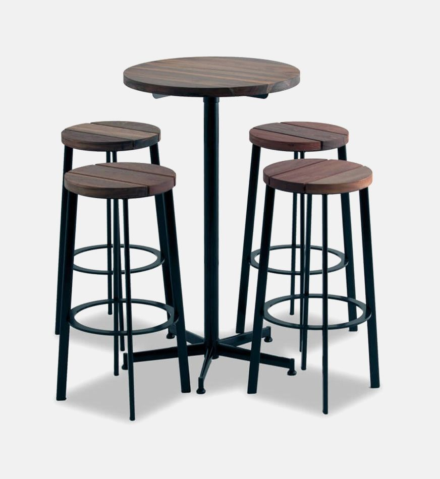Zero Slatted Bar Stool Bci Furniture
